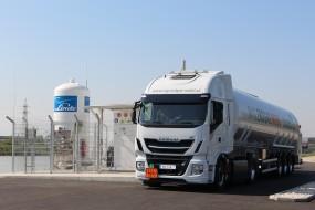 RAG otvírá první čerpací stanici LNG vRakousku