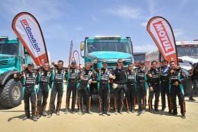 Úspěšný Dakar 2019. Třetí místo a čtyři vozy IVECO v první desítce